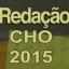 Curso de Redação - CHO 2015