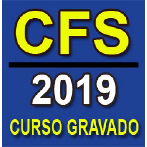 Curso GRAVADO Preparatório CFS 2019 (QPPM)