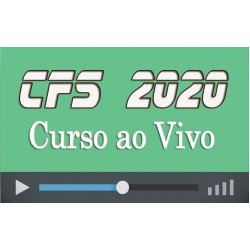 Curso com Aulas ao Vivo Preparatório CFS 2020 (QPPM)
