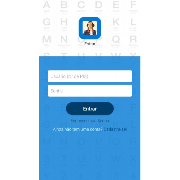 Aplicativo do Alferesbook
