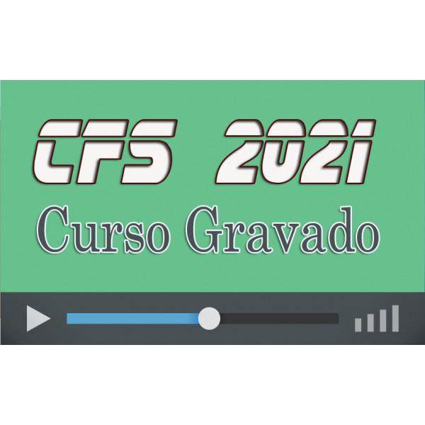 Curso GRAVADO Preparatório CFS 2021 (QPPM)